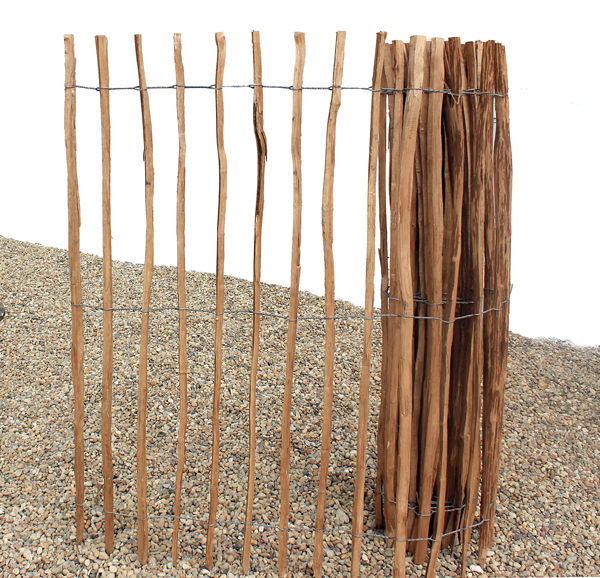 staketenzaun impr gniert holzzaun staketen zaun h 150cm abstand 7 8cm l nge 5m ebay. Black Bedroom Furniture Sets. Home Design Ideas