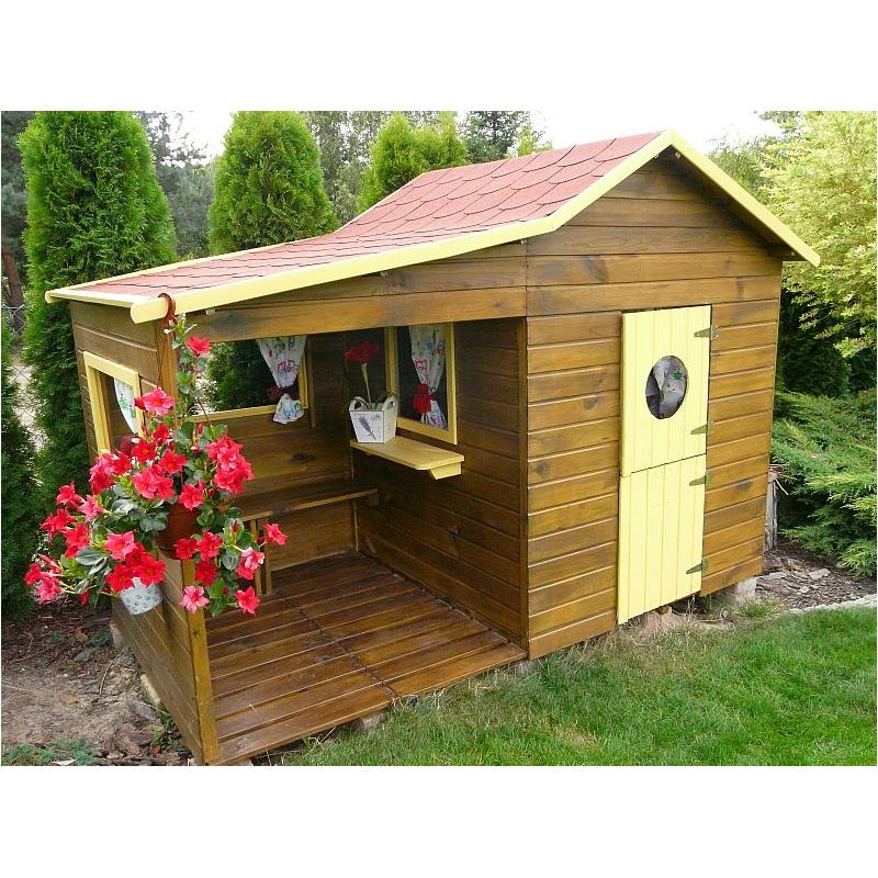 kinderhaus elli kinderspielhaus gartenhaus holz. Black Bedroom Furniture Sets. Home Design Ideas
